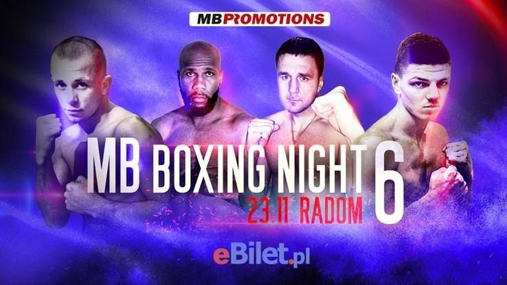 MB Boxing Night 6. Transmisja w Polsacie Sport Fight i w Polsacie Sport