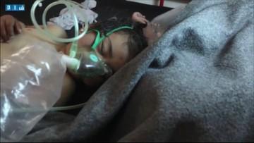 Atak chemiczny w Syrii. Zginęło co najmniej 58 osób