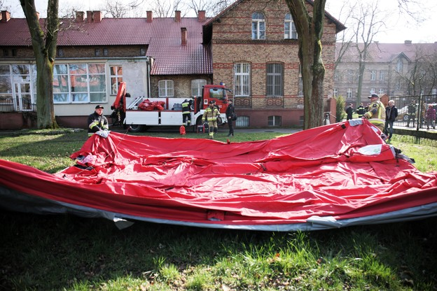 W całej Polsce ćwiczenia strażaków wz. z koronawirusem [FOTOGALERIA]