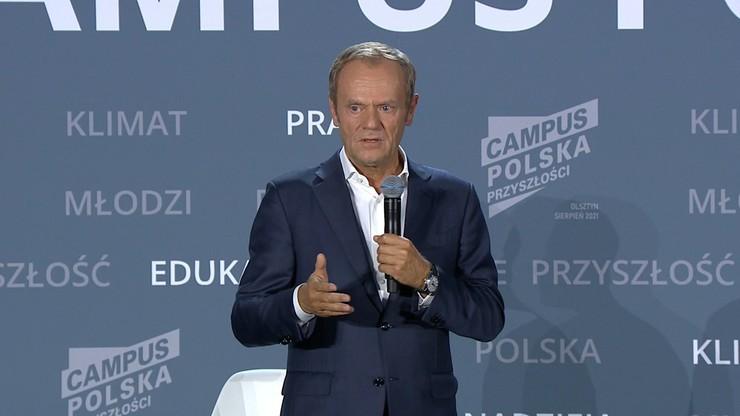 """Donald Tusk odradza kary finansowe dla Polski. """"Jestem bliski przekonania unijnych urzędników"""""""