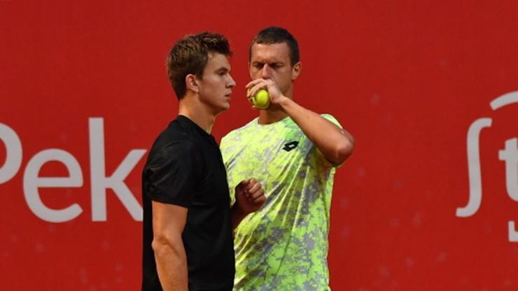 Challenger ATP w Szczecinie: Drzewiecki i Polasek najlepsi w deblu