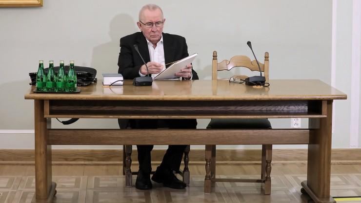 """Czuma przed komisją ds. VAT. """"Nie otrzymałem informacji nt. przestępstw karno-skarbowych"""""""