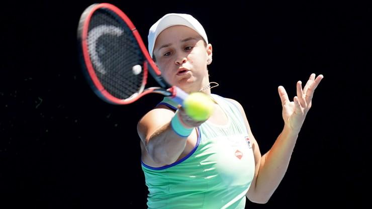 Australian Open: Udany rewanż Barty w ćwierćfinale z Kvitovą