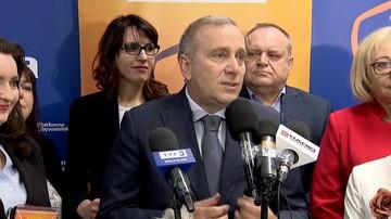"""""""Polityczna prowokacja"""". Schetyna o pomyśle postawienia pomnika smoleńskiego na pl. Piłsudskiego"""