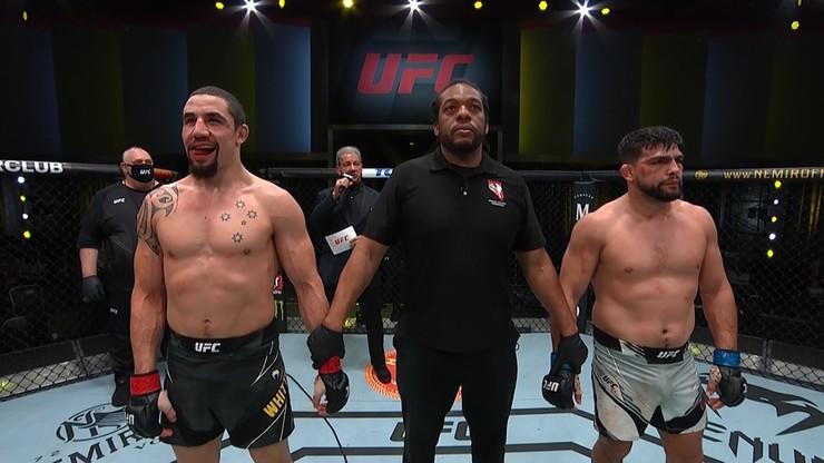 UFC Vegas 24: Robert Whittaker wypunktował Kelvina Gasteluma w walce wieczoru
