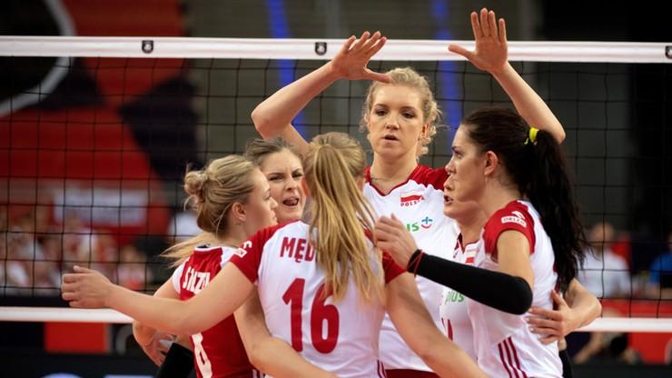 Polskie siatkarki wygrały ze Słowenią. To ich pierwszy mecz w mistrzostwach Europy