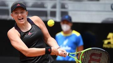 WTA w Luksemburg: Jelena Ostapenko w półfinale, Belinda Bencic i Elise Mertens odpadły
