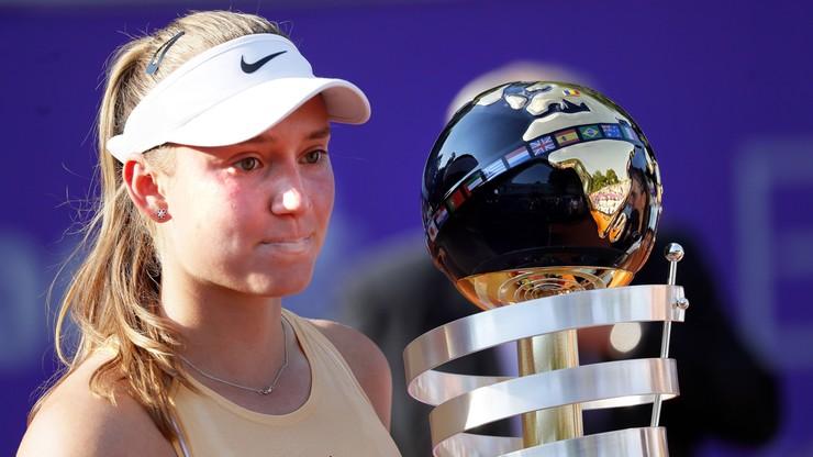WTA w Hobart: Drugie zwycięstwo Rybakiny
