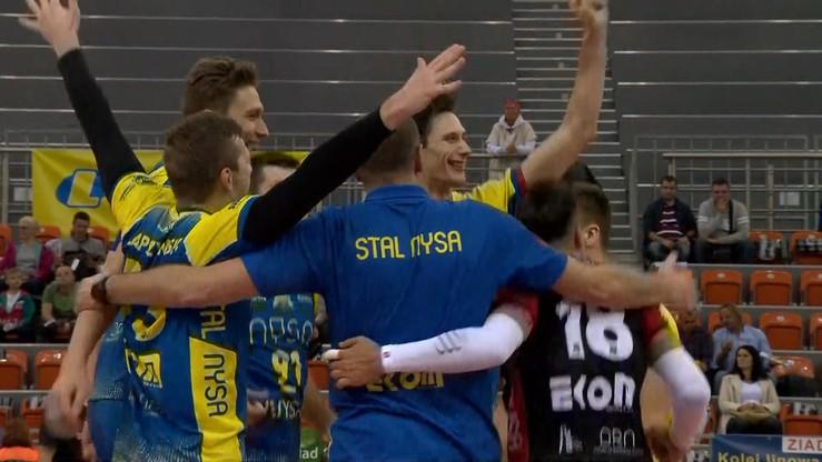 KRISPOL 1. liga: Exact Systems Norwid Częstochowa - Stal Nysa. Transmisja w Polsacie Sport Extra