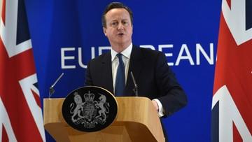 Cameron: to porozumienie pozwala mi rekomendować pozostanie W. Brytanii w UE