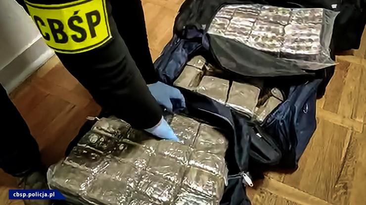 150 kg haszyszu w siedmiu torbach. Policja przejęła narkotyki warte 8 mln zł