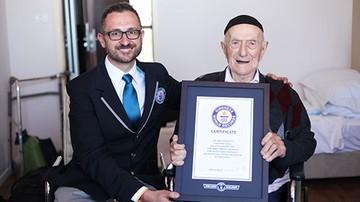 Najstarszy mężczyzna na świecie urodził się w Żarnowie. Przeżył Auschwitz
