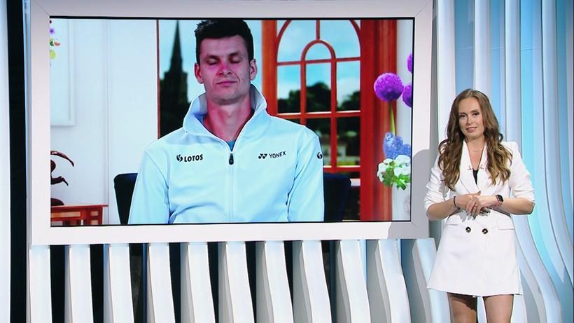 Hurkacz dla Polsatu Sport: Dla takich chwil się żyje