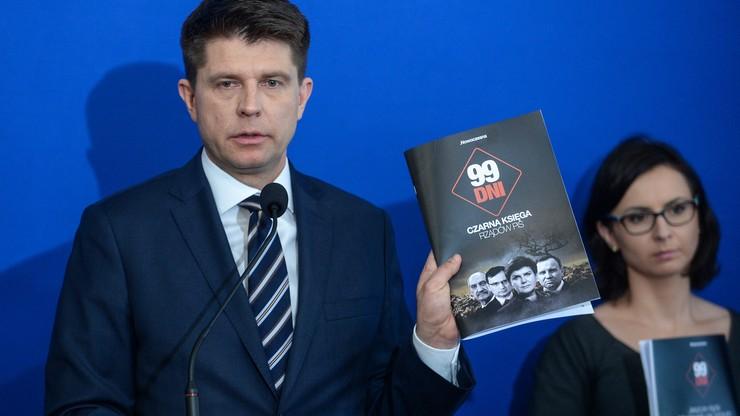 Petru: bilans pierwszych 99 dni rządu PiS jest okropny