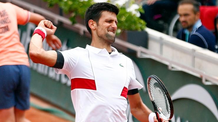 French Open: Djokovic wygrał w trzeciej rundzie po czterogodzinnym boju