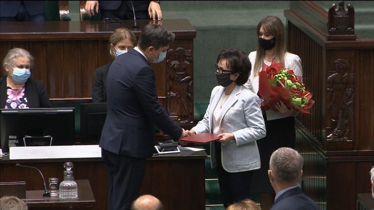 Ślubowanie nowego RPO. Marcin Wiącek na stanowisku