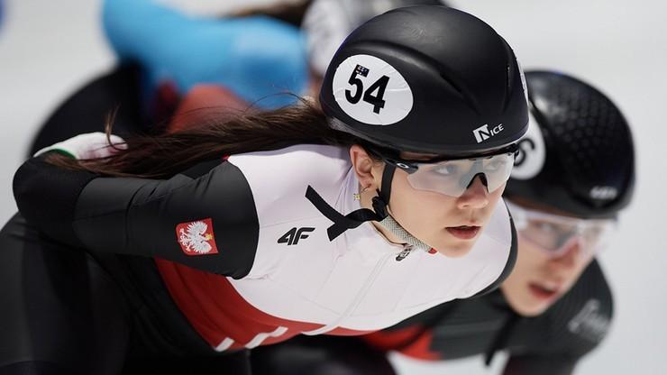 MŚ w short tracku: Nikola Mazur w półfinale na 1000 m, odpadła Natalia Maliszewska