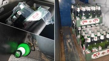 Polak jechał przez Holandię z otwartym piwem w szoferce i bez prawa jazdy