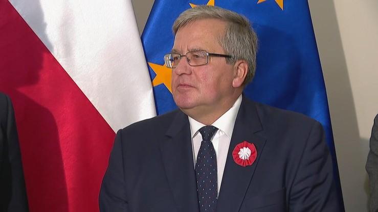 Komorowski: liczę, że w Poznaniu znajdę lepszy sposób świętowania