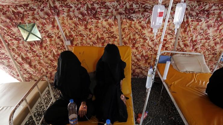 WHO: już 1500 ofiar śmiertelnych epidemii cholery w Jemenie