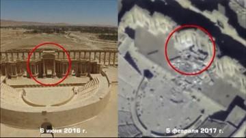 Dżihadyści niszczą Palmirę. Rosjanie pokazali nagranie