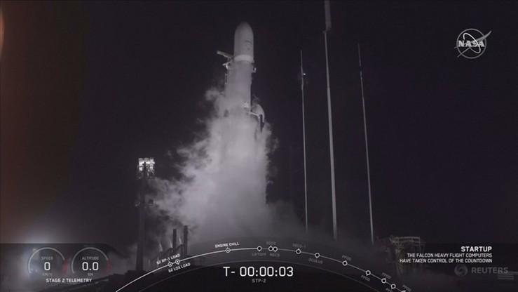 Elon Musk wysłał na orbitę kolejną rakietę. Wyniosła w kosmos m.in. ludzkie prochy
