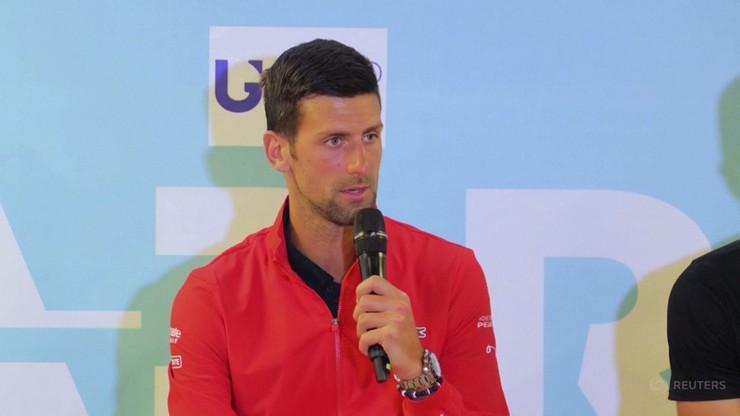 Novak Djokovic zakażony koronawirusem