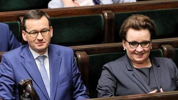 Sejm odrzucił wniosek o odwołanie minister Anny Zalewskiej