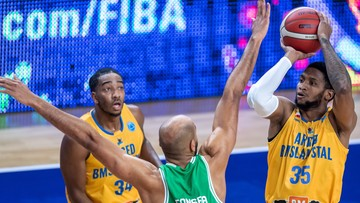 Puchar Europy FIBA: Zwycięstwo Arged BM Slam Stali ze Sportingiem