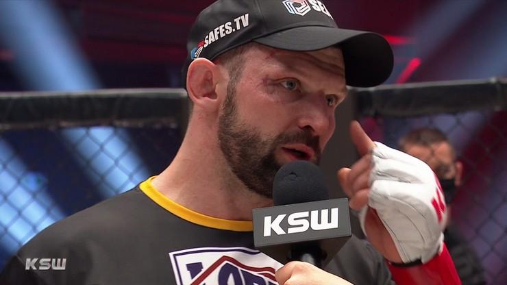 KSW 58: Walka Szymona Kołeckiego wisiała na włosku. Jego żona poważnie zachorowała