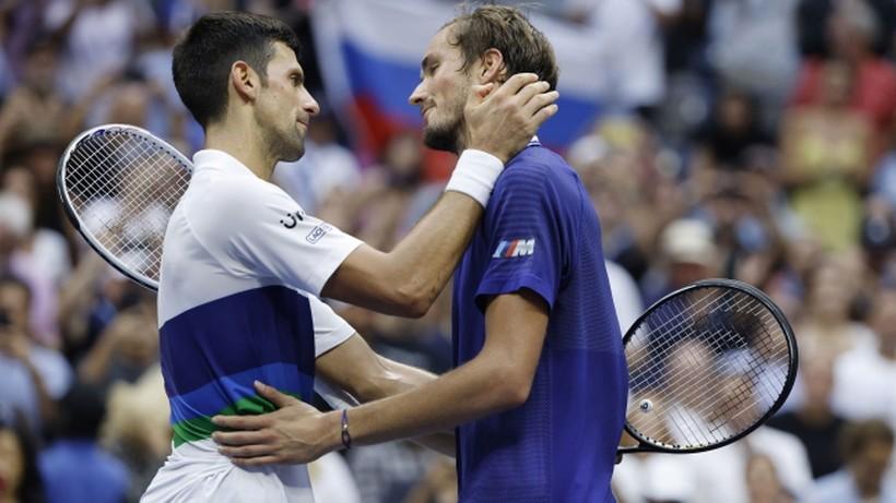 """Miedwiediew do żony po triumfie w US Open: """"Musiałem to zrobić!"""". Nie była zachwycona"""