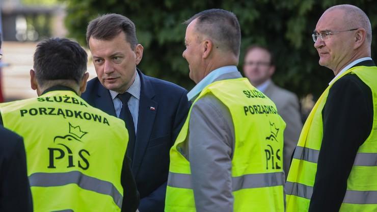 """""""Frasyniuk groził Jarosławowi Kaczyńskiemu. Wyraźnie słyszałem"""". Błaszczak o sobotniej kontrmanifestacji"""