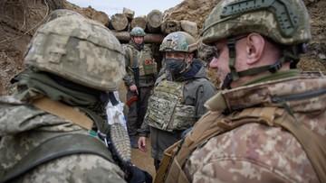 """Działania Rosji przy granicy z Ukrainą. """"Patrzymy na to z bardzo dużym zaniepokojeniem"""""""