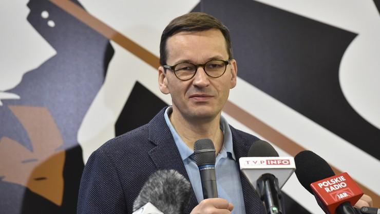 """Morawiecki zaapelował do """"Solidarności"""" o wsparcie w otwieraniu polskiej gospodarki na pracowników ze Wschodu"""