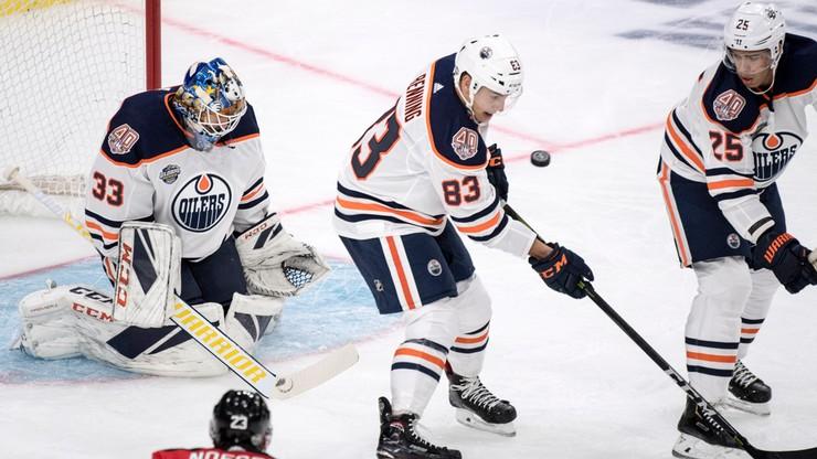 NHL: Osiem goli w jednej tercji. Sześć asyst Leona Draisaitla