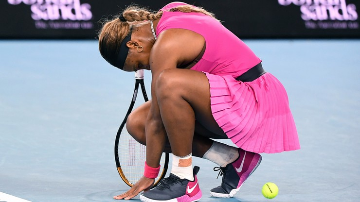 WTA w Melbourne: Serena Williams wycofała się przed półfinałem z Ashleigh Barty
