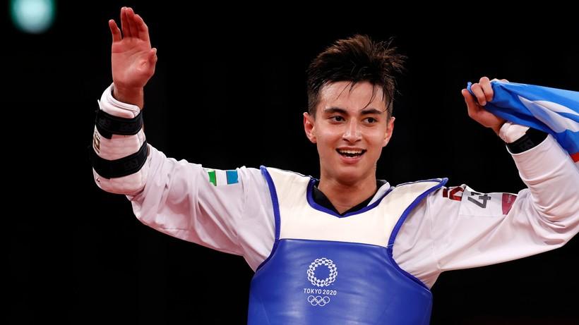 Tokio 2020: 19-letni Ulugbek Rashitov złotym medalistą kategorii 68 kg w taekwondo
