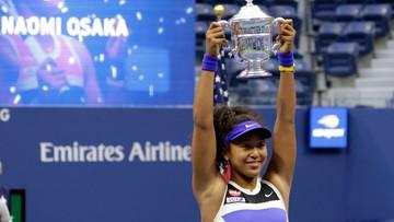 US Open: Trzeci wielkoszlemowy tytuł Naomi Osaki