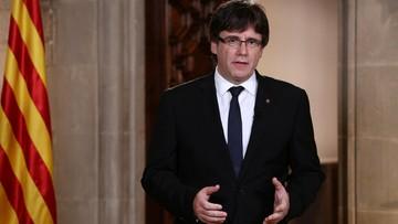 Premier Katalonii zapewnia, że chce negocjacji. Krytykuje króla Filipa VI: rozczarował wiele osób w Katalonii