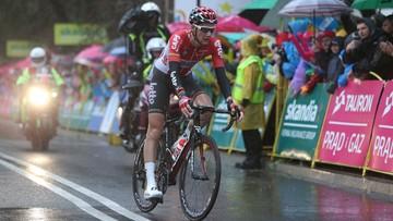 Tour de Pologne: Wellens wygrał dramatyczny etap do Zakopanego. Kwiatkowski leżał w kraksie