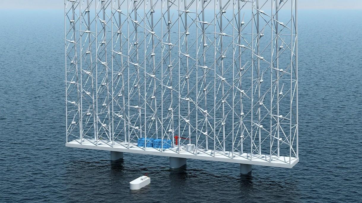 Ta niezwykła elektrownia wiatrowa zasili w energię 100 tysięcy domów