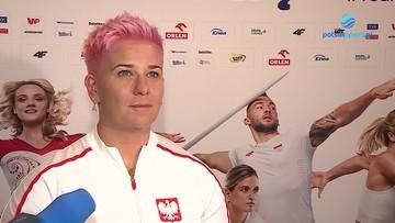 Anita Włodarczyk o swojej nowej fryzurze: Lubię coś zmienić. Jestem odważna, dlatego postawiła na różowy kolor