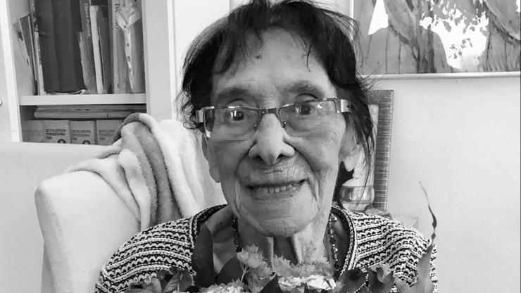 """Zmarła Lidia Lwow-Eberle. Sanitariuszka AK, narzeczona """"Łupaszki"""" miała 100 lat"""