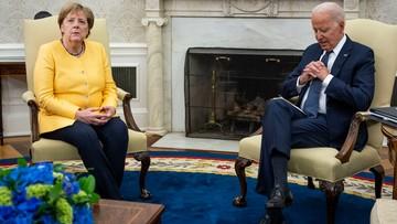 Biden spotkał się z Merkel. Poruszyli temat ważny dla Polski