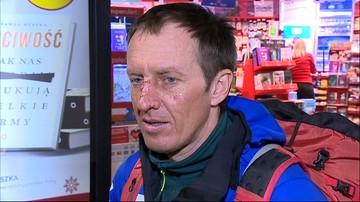 Denis Urubko zapowiada zbieranie funduszy na kolejną wyprawę na K2. Himalaista wylądował na Okęciu