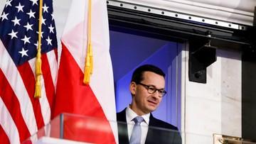 Premier Morawiecki w CNN: mamy problemy z wytłumaczeniem, o co chodzi w reformie sądownictwa
