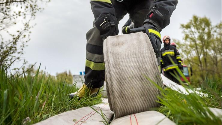 764 interwencje Straży Pożarnej w związku z opadami deszczu. Najwięcej w woj. śląskim