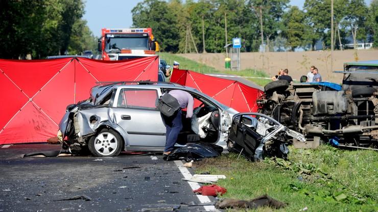 W ostatnią sobotę wakacji na polskich droga zginęło 12 osób