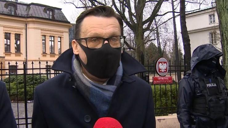 """""""Hańba"""" - okrzyki po wyroku TK ws. kadencji RPO. """"Najgłośniejszy poseł Szczerba"""""""