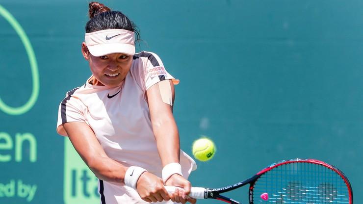 WTA w Zhengzhou: Dwie Chinki w finale